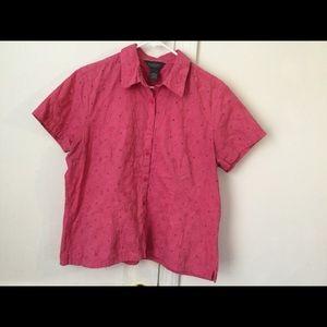 Van Heiden pink T shirt